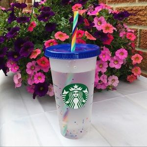 STARBUCKS Confetti Colour Changing Tumbler Cup